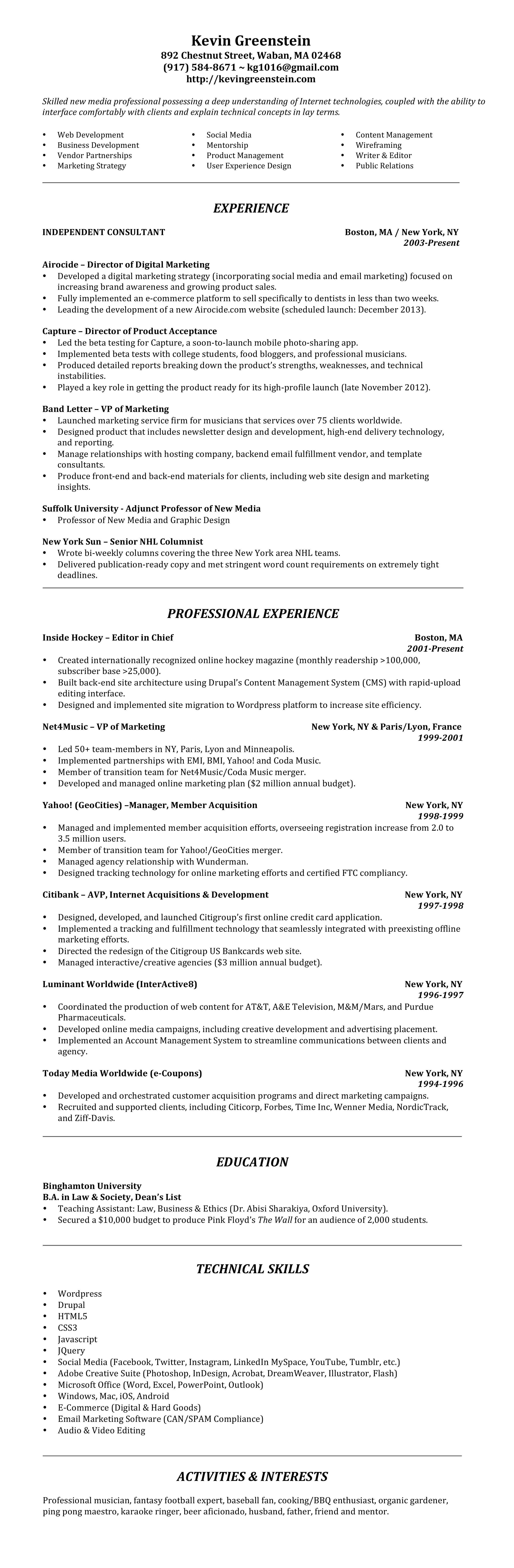 kevin-greenstein-resume-2014